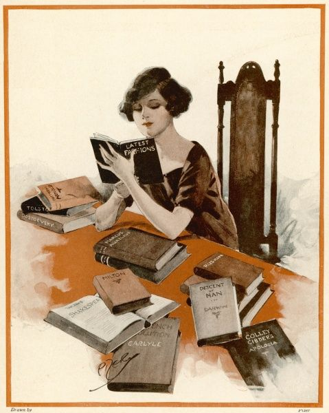 A male idea of the female taste in reading material