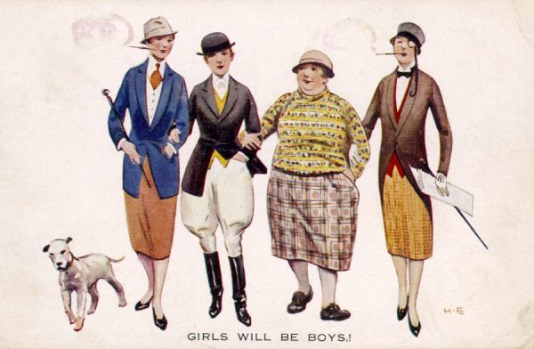 Girls will be boys: equality of dress
