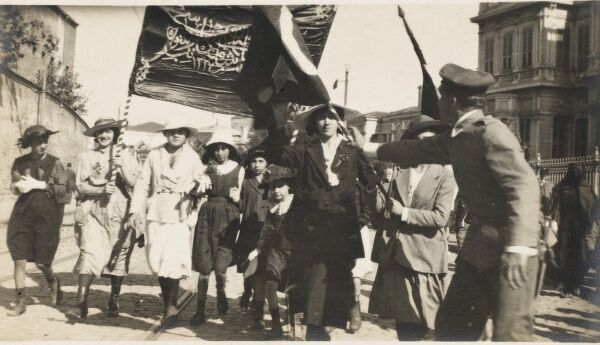 Women's Rights March in Algeria, at this time under French rule