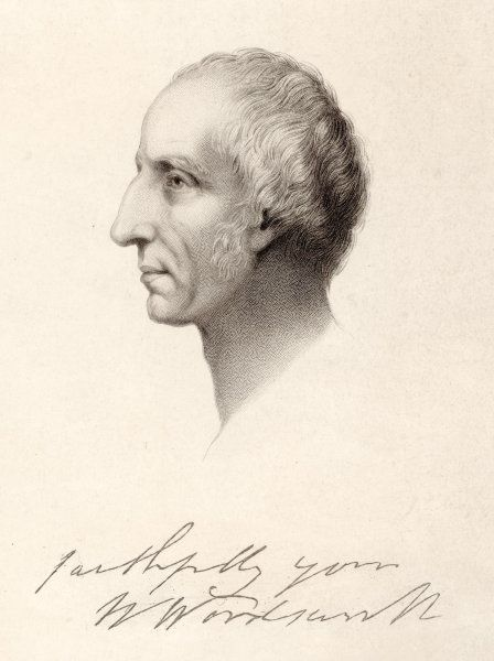 WILLIAM WORDSWORTH English writer, towards the end of his life