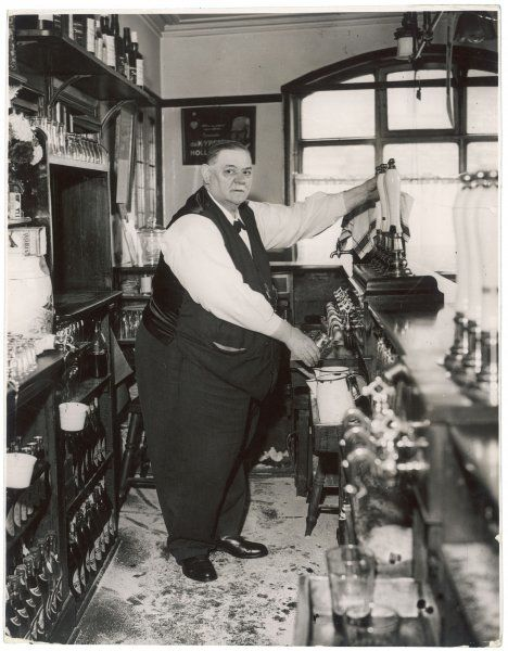 The publican W.P.Fairless of the Castle Howard Ox Hotel, York. He reportedly weighed 30 stone in 1935