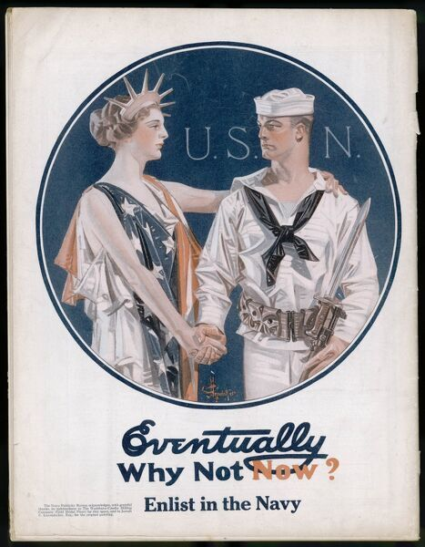 US Navy recruitment poster