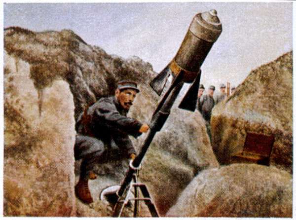 A French shell-launcher
