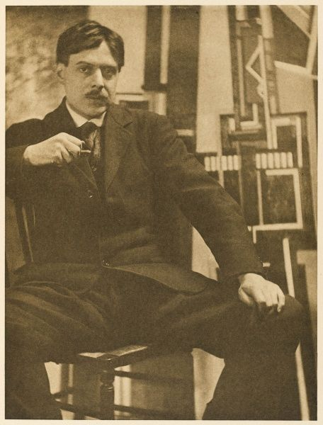 WYNDHAM LEWIS writer, artist and critic