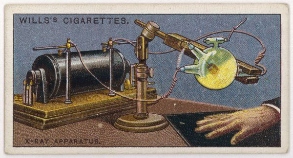 X-Ray apparatus, in the year X-Rays were discovered