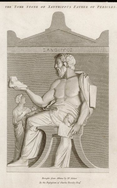 XANTHIPPUS Athenian naval commander, father of Pericles