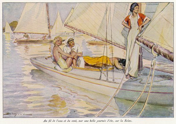 A yachting scene