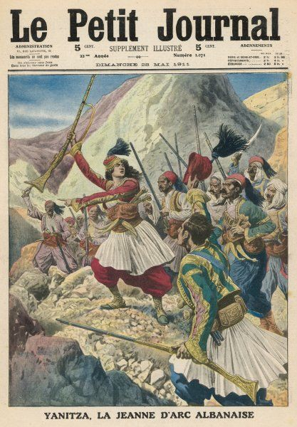 Twenty-two year old Yanitza leads the Albanian patriots in a revolt against Turkish rule Date: 1911