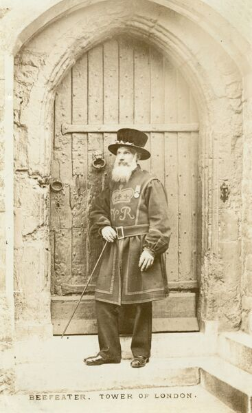 A Yeoman Warder of the Tower of London