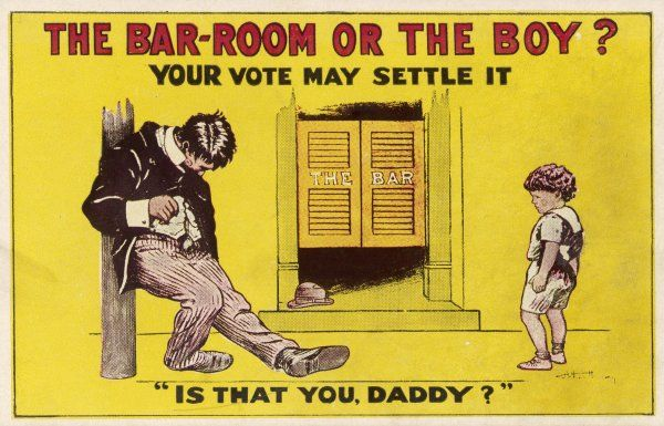 'IS THAT YOU, DADDY ?' Propaganda for prohibition presupposes that every man who patronises a bar will become a drunken sot