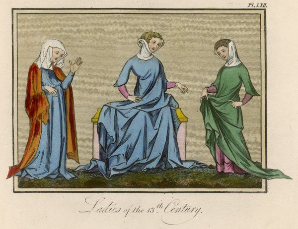 Three young English ladies
