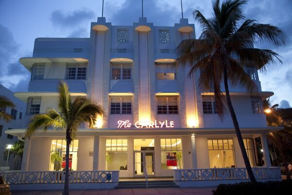 art deco buildings in miami. Art deco building in Miami