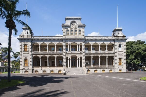Oahu Hawaii United States  city pictures gallery : Iolani Palace, Honolulu, Oahu, Hawaii, United States of America ...