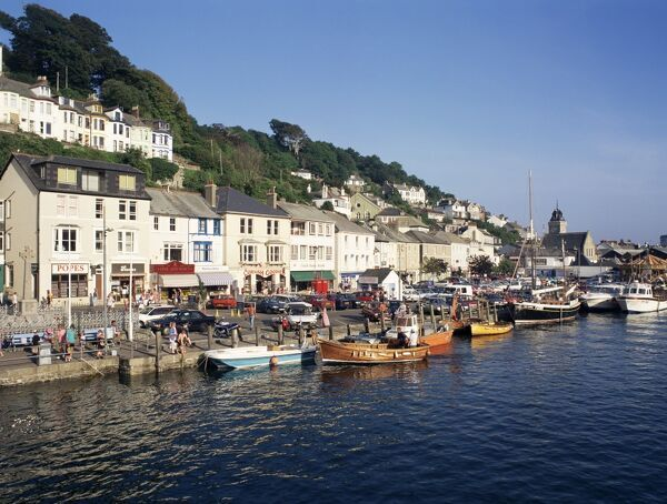 Looe United Kingdom  city photos gallery : Looe, Cornwall, England, United Kingdom, Europe Poster 1144921 ...
