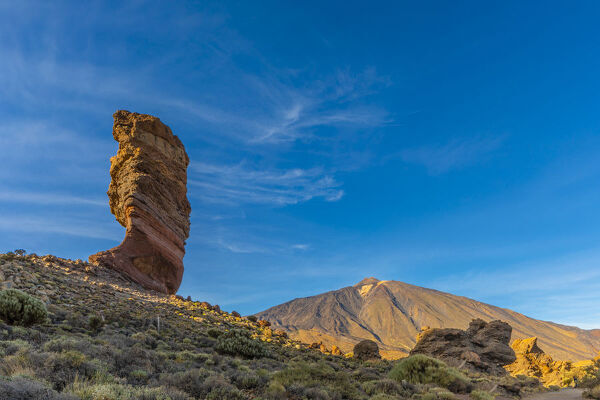 Mount Teide, Las Canadas National Park, UNESCO World Heritage Site, Tenerife, Canary Islands, Spain, Atlantic Ocean, Europe