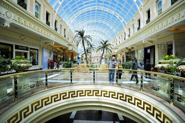 Shopping mall at The Trafford Centre, Manchester, England, United Kingdom, Europe