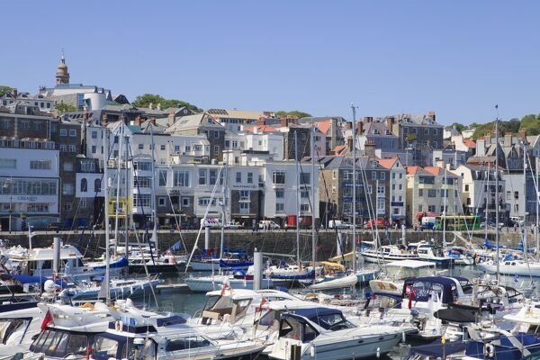 St Peter Port United Kingdom  City new picture : St. Peter Port, Guernsey, Channel Islands, United Kingdom, Europe ...