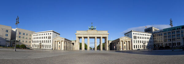 Brandenburg Gate, Pariser Platz, Berlin, Germany