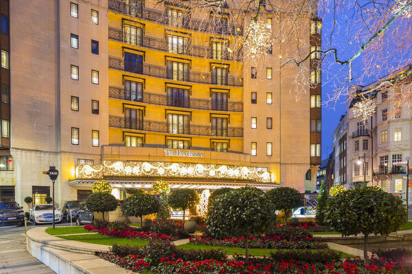 Dorchester hotel, Mayfair, London, Engand, UK