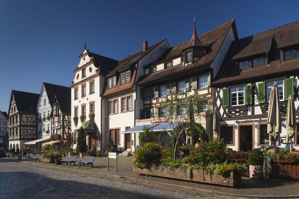 Germany, Baden-Wurttemburg, Black Forest, Gengenbach, town buildings