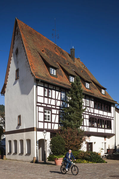 Germany, Baden-Wurttemburg, Black Forest, Haslach im Kinzigtal, traditional building details