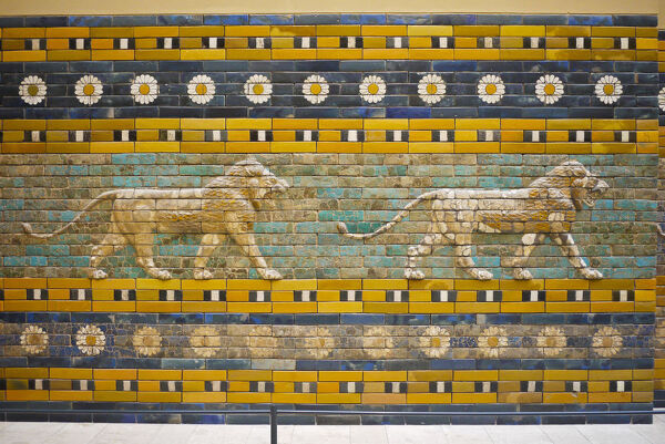 Processional Way from Babylon, Pergamon Museum, Berlin, Germany