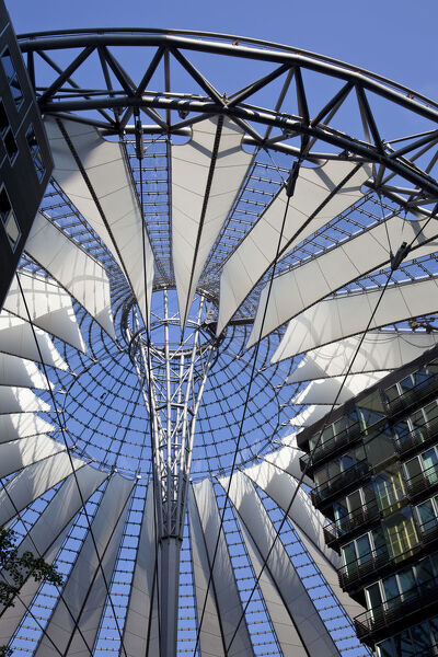 Sony Center, Potsdammer Platz, Berlin, Germany