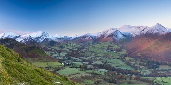 UK, England, Cumbria, Lake District, Newlands Valley