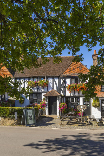 White Horse Pub, Shere - Location for the film 'The Holiday' - Surrey, England