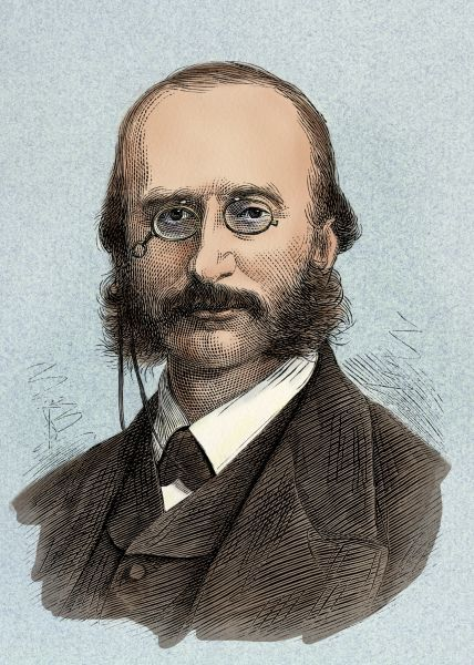 Jacques offenbach portrait of composer jacques offenbach for Hs offenbach