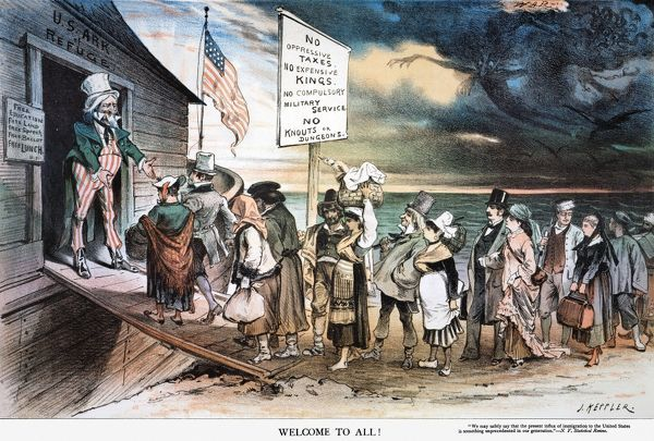 a comparison of the old immigration and new immigration to the united states A major change to immigration legislation in 1965 paved the way for new waves of immigration from  new immigrants came to the united states  by comparison.
