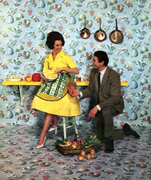 The wallpaper manufacturers limited 1960s uk humour for Wallpaper manufacturers