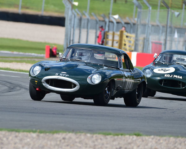 Jamie Boot, Jaguar E-Type, Jaguar Classic Challenge, pre-66 Jaguar Cars, Donington Historic Festival, May 2019, motor racing, motor sport, motorsport, Nostalgia, racing, racing cars, retro, cars, classic cars, classic event, Classic Racing Cars