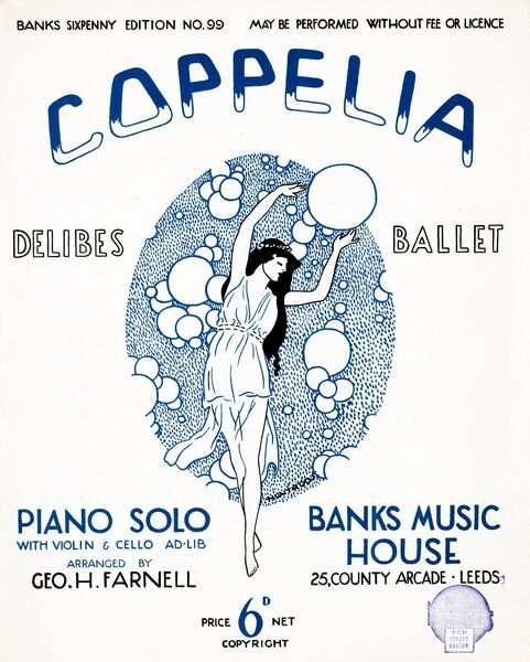 coppelia ballet by