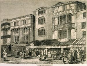 Butcher Row, Whitechapel c.1850 J000141