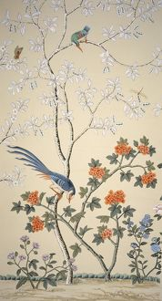 Chinoiserie wallpaper J050124