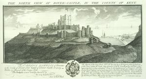 Dover Castle engraving N070808