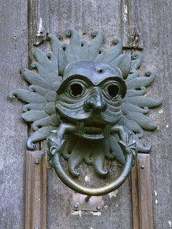 Durham Cathedral door knocker K011465