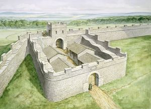 Hadrians Wall Cawfields Milecastle J980019