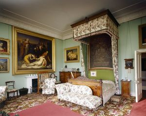 Queen Victoria's Bedroom, Osborne House J070022