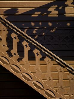 Swiss Cottage stairs at Osborne House N071193