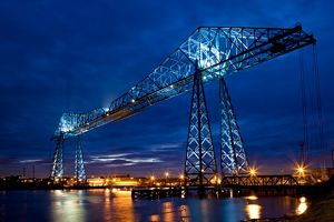 Tees Transporter Bridge, Middlesbrough N100022