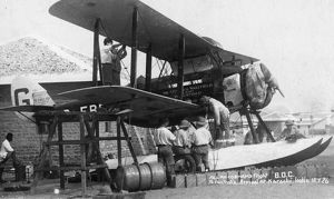Alan Cobham and his DH.50 in India, 1926