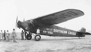 Fokker Trimotor Southern Cross of Charles Kingsford-Smith