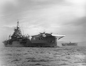 HMS Indomitable, 1943