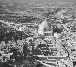 The Mosta Dome, Malta 1935