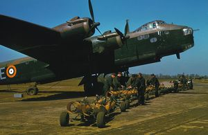Re-arming a Short Stirling