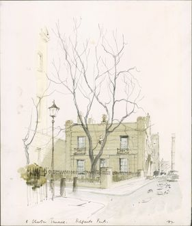 5 Chester Terrace, Regents Park, by Sir Hugh Maxwell Casson