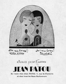 Advert for Jean Patou perfume, 1926, Paris