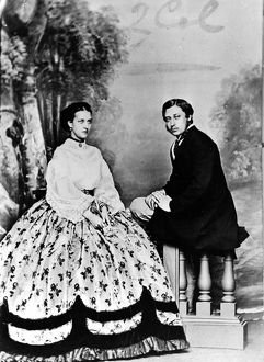 Albert Edward, Prince of Wales with Alexandra, Princess of W